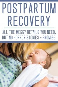 Postpartum recovery tips / postpartum care
