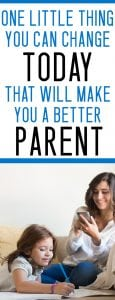 how to be a better parent