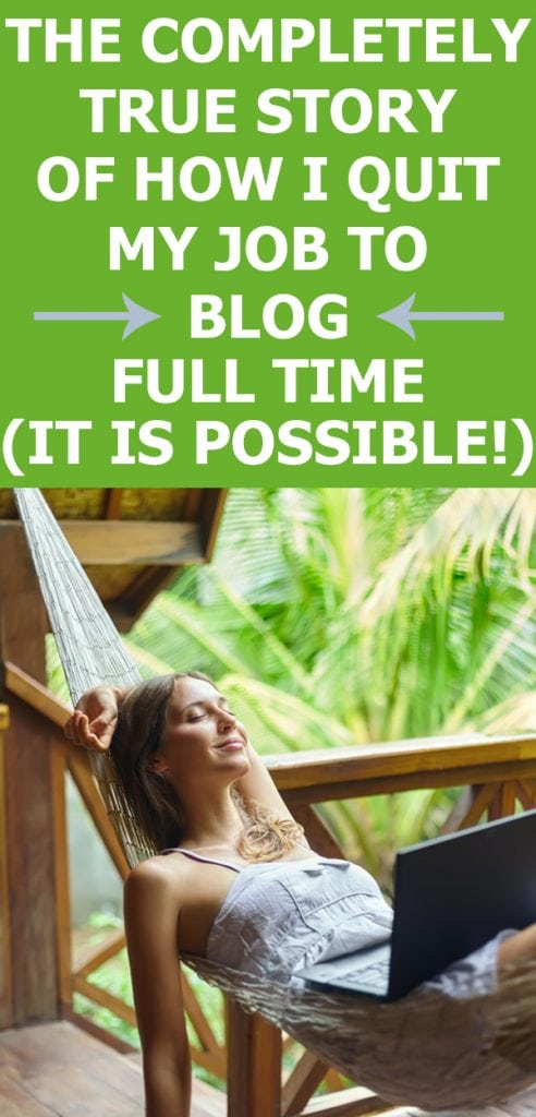 start a blog to work from home
