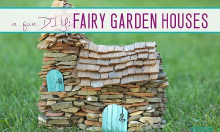 Build the Cutest DIY Fairy Garden House EVER!
