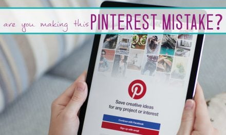 Are You Making This BIG Pinterest MISTAKE?