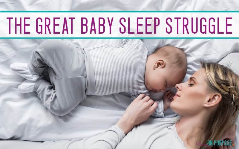 The Great Baby Sleep Struggle – Why We Co-Sleep