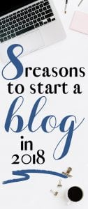 how to start a blog and reasons to start a blog!