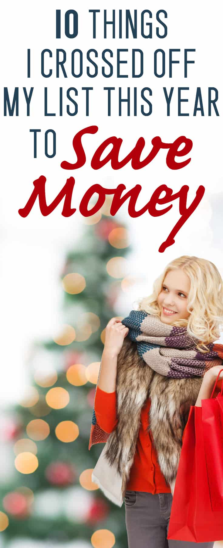 Christmas can get awfully expensive awfully fast. Save money this Christmas by refusing to buy these things!