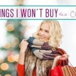 Saving money at Christmas -10 things I won't buy this year