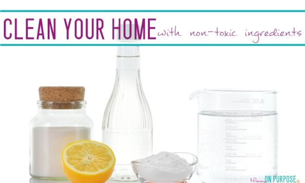 Non toxic Household Cleaners: 6 ingredients to clean your home naturally