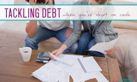 How to Tackle Debt When You're Short on Cash