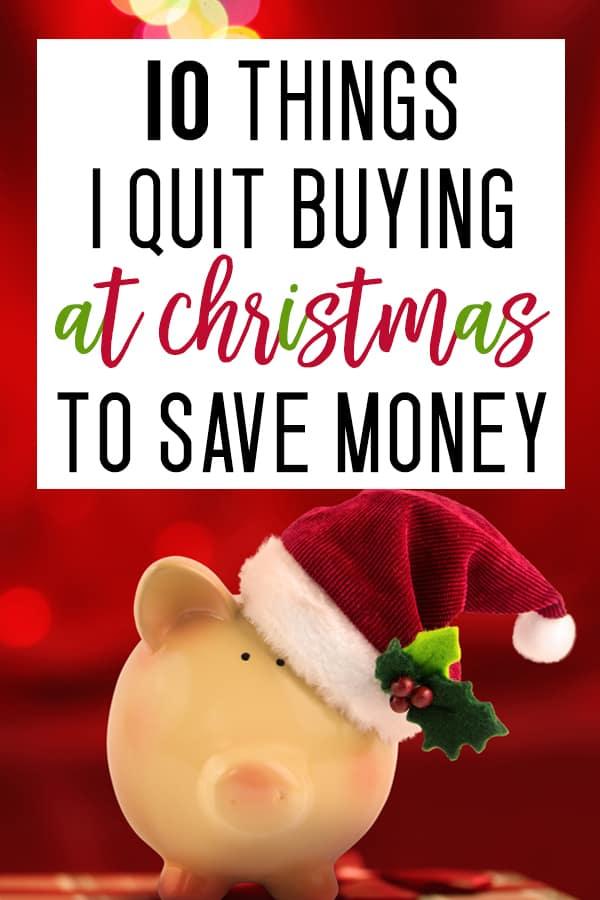 christmas budgeting