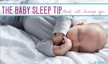 Baby Sleep is hard, but this changed EVERYTHING for me