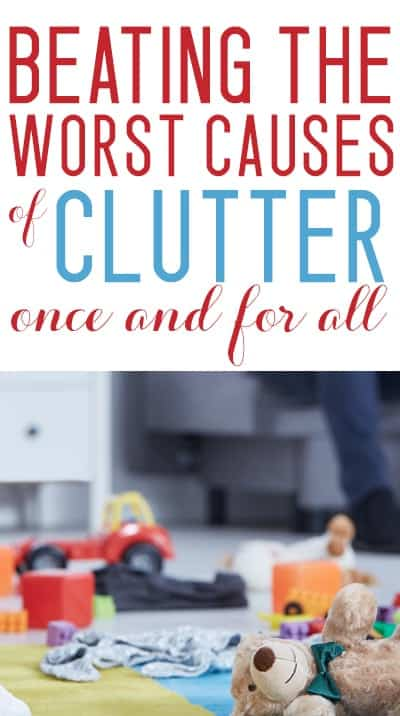 beating clutter