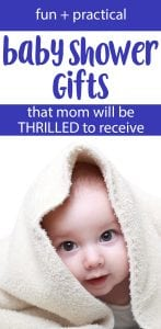 best baby shower gifts for boys OR girls!