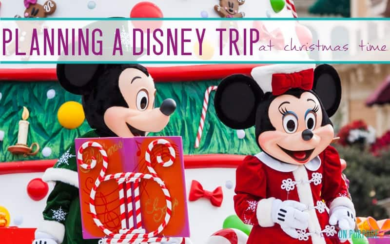 Planning a Disneyland Trip at Christmas Time!