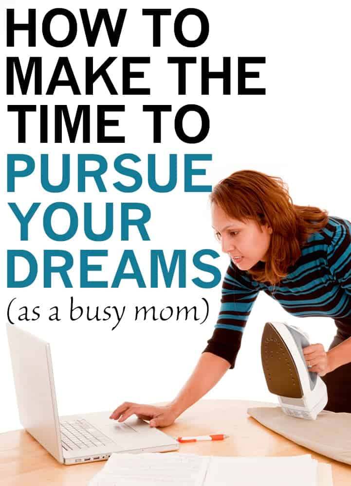 how to achieve your goals as a mom - it's hard to carve out even a few minutes for yourself - you need a PLAN!