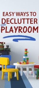 how to declutter the playroom