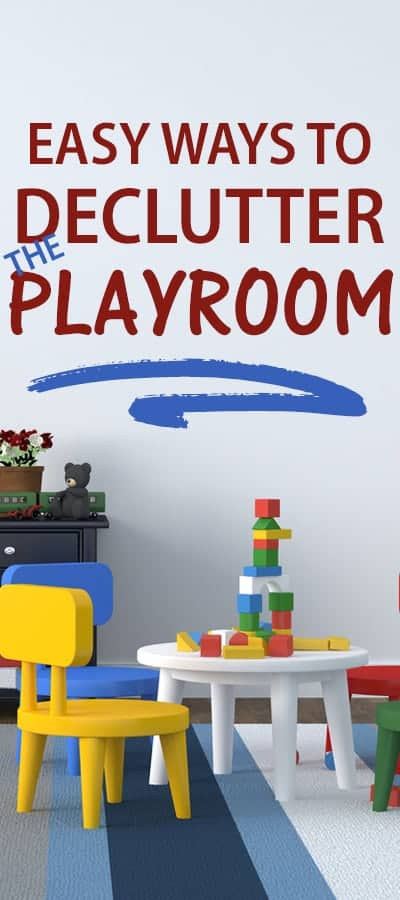 Declutter the playroom BEFORE the holidays!