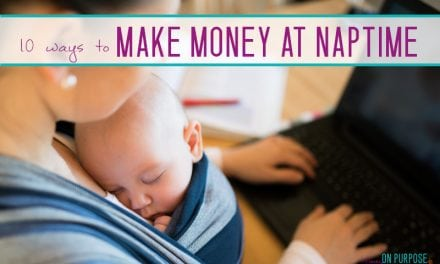 Making Money During Naptime