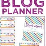 FREE PRINTABLE 2018 BLOG PLANNER