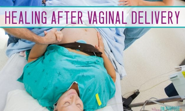 Healing Postpartum After Vaginal Birth (make that recovery SPEEDY)