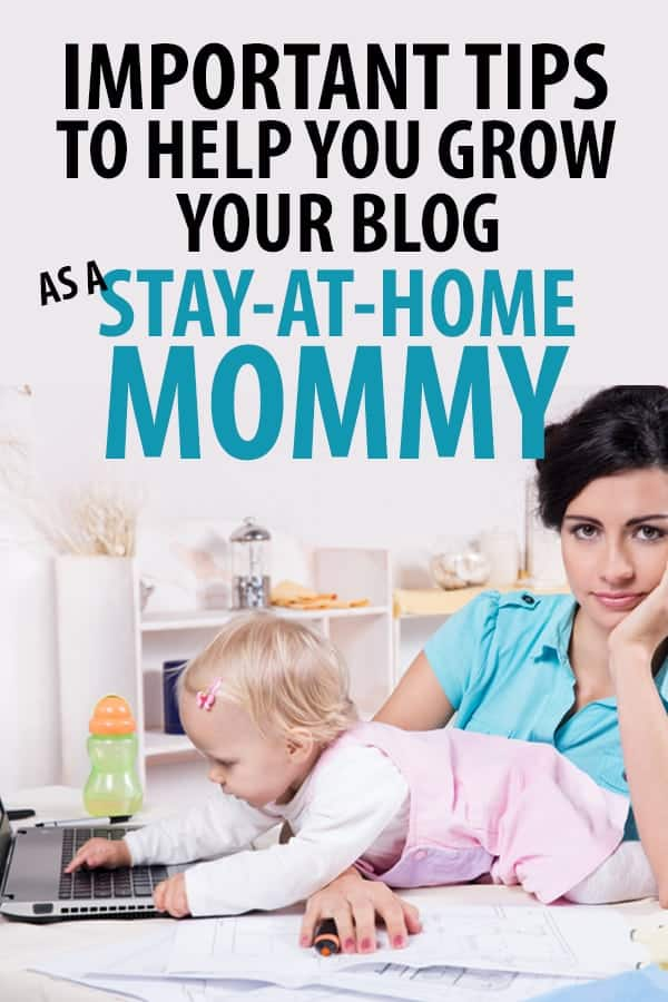 How to start a blog as a stay at home mom -Working from home - or starting a blog - with kids is HARD - but totally possible! Check out these tips if you're a stay at home / work from home mom.