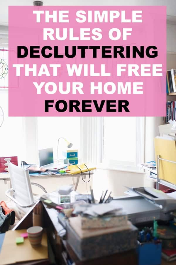clutter free home ideas, decluttering tips