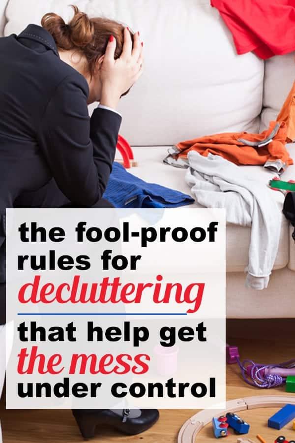clutter free home ideas, decluttering tips