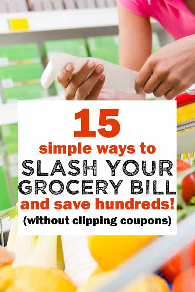 Save money on groceries with these frugal shopping tips!