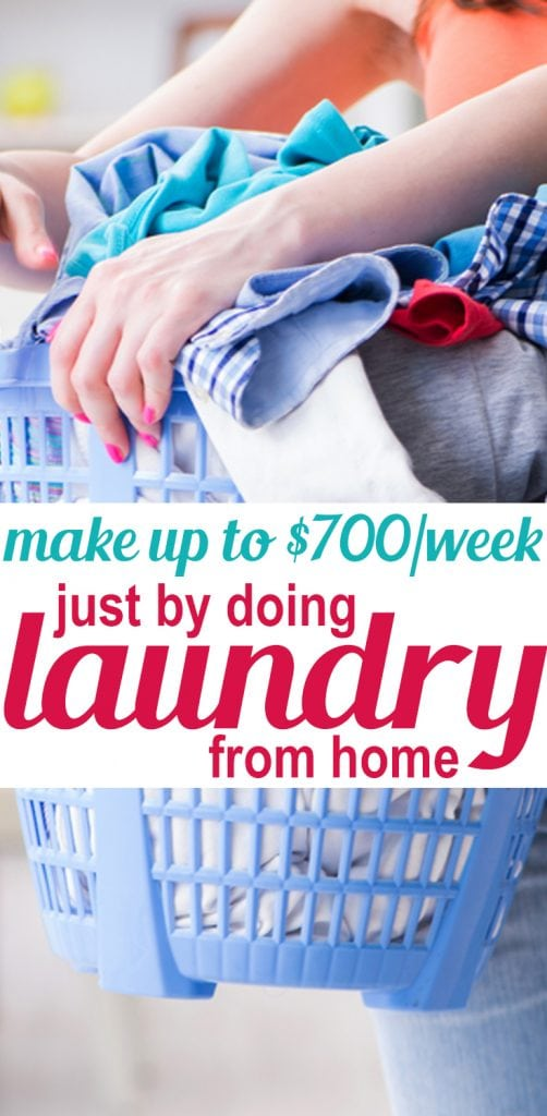 start a laundry business to earn extra income