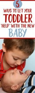 Toddler and newborn tips - for when you have TWO