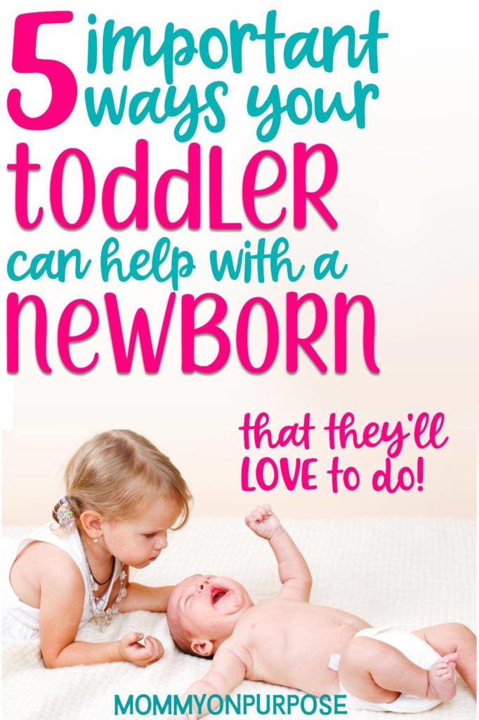 tips for letting toddler help with baby number two