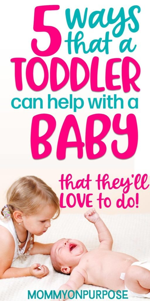 how a toddler can help with baby number two
