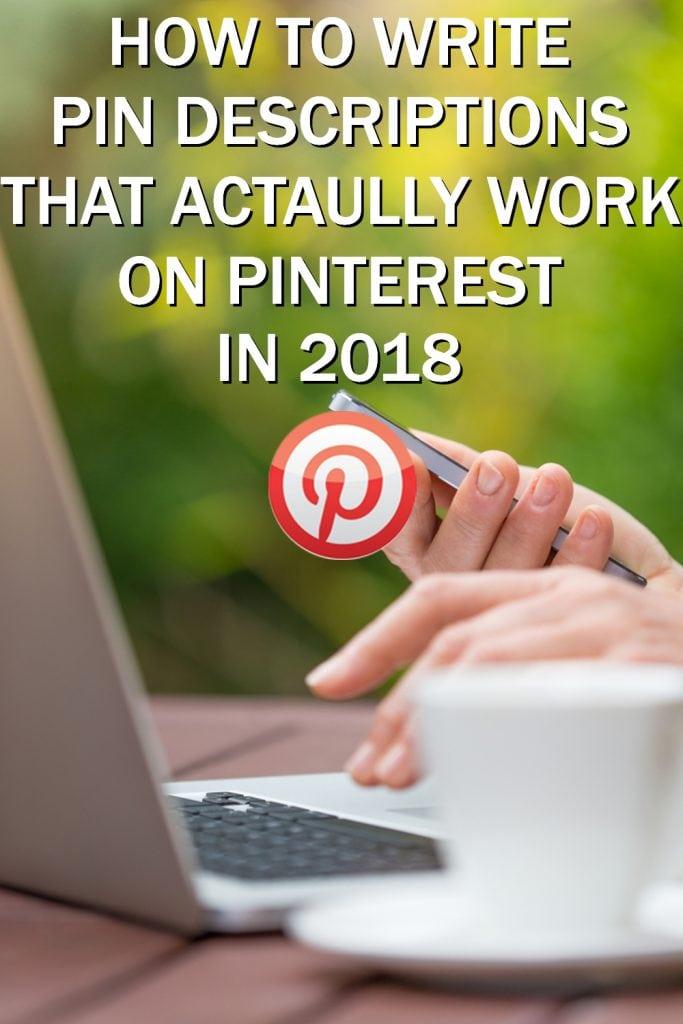 pinterest pin descriptions for bloggers