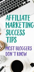 affiliate marketing to make money for bloggers