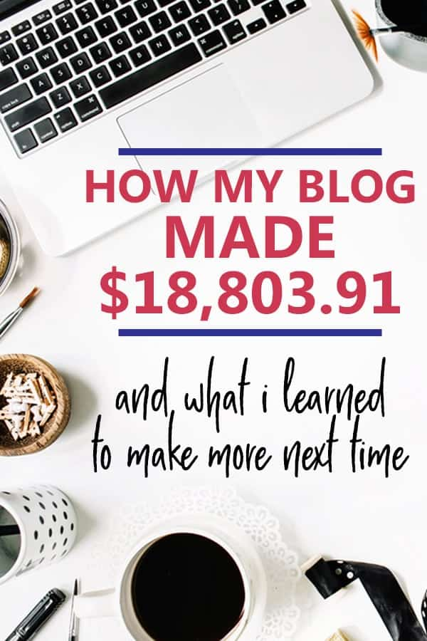 blog income reports