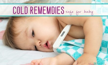 Natural Cough and Cold Remedies for Babies