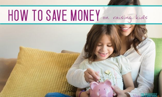 The Top 5 Ways to Save Money Raising Kids