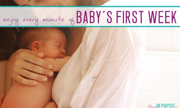 Bringing Baby Home – Enjoying the First Week With a Newborn