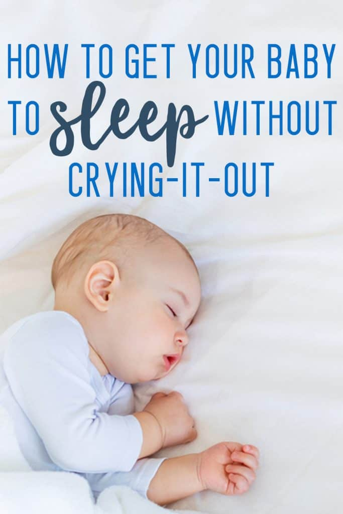 no cry sleep training
