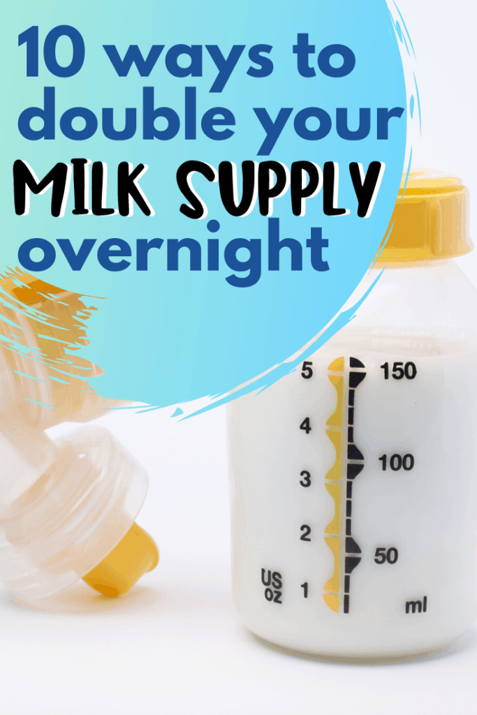 increase breast milk supply naturally
