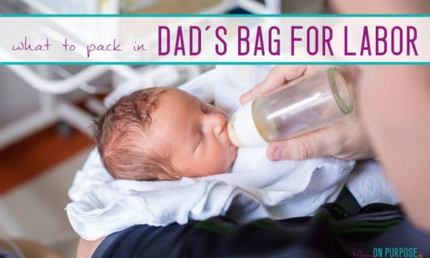 Hospital Bag Checklist for Dad