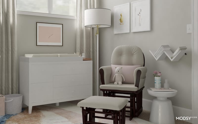 6 Tricks For Creating A Nursery Room In Small E
