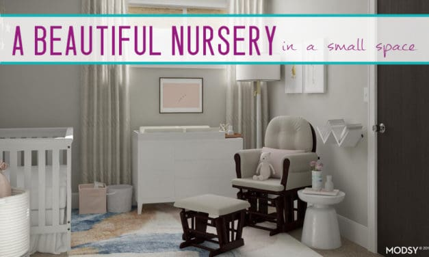 6 Tricks for Creating a Nursery Room in a Small Space