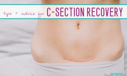 How to Recover from a C-section (as quickly as possible)
