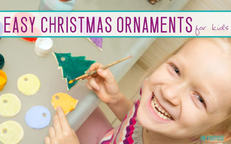 DIY Christmas Ornaments to Make With Toddlers