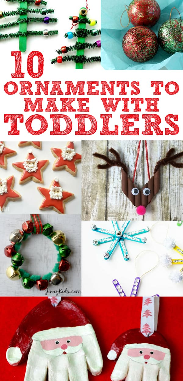 Diy Christmas Ornaments To Make With Toddlers Mommy On Purpose