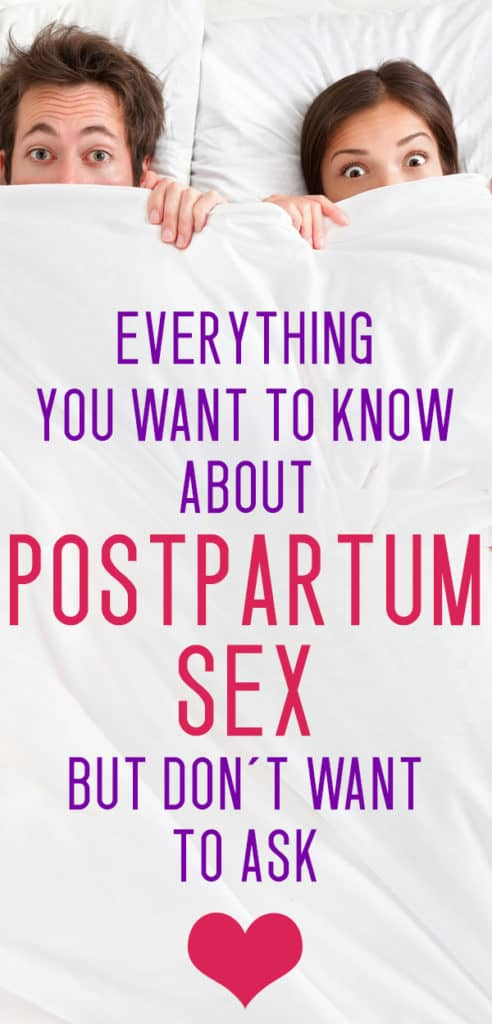 postpartum sex questions