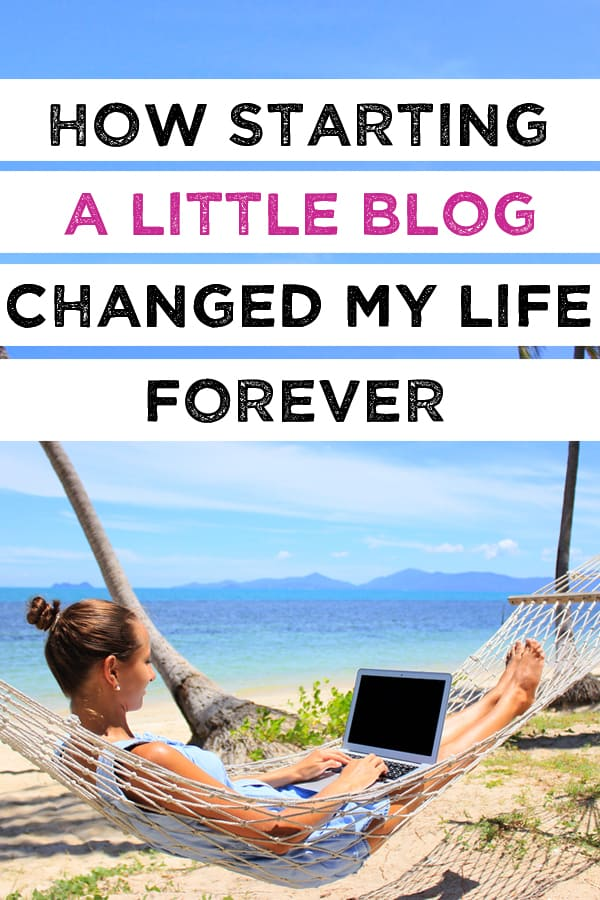 how I quit my job to start blogging