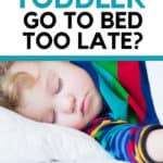 what time should a toddler go to bed?
