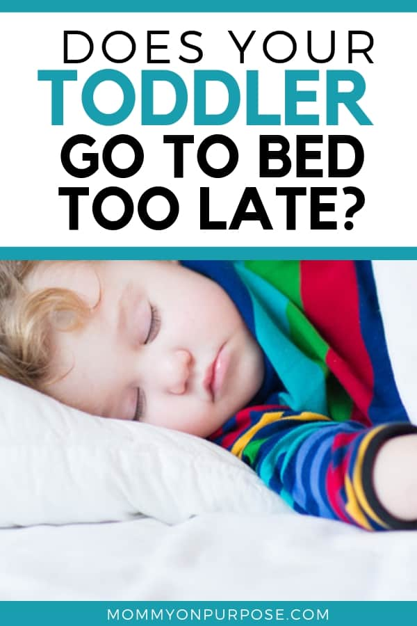 "Why Our Two Year Old Goes to Bed ""Late"" - Mommy on Purpose"