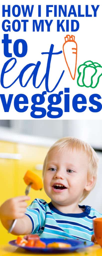 tips and tricks for getting toddlers to eat veggies