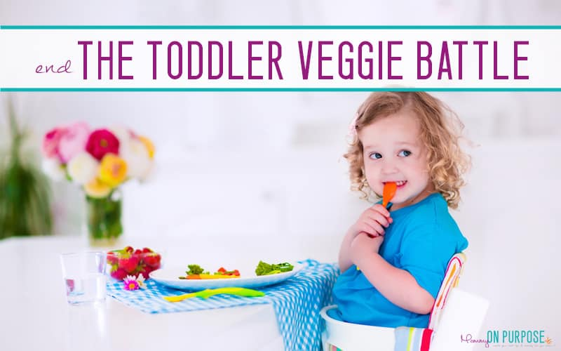 10 Ways to Get a Toddler to Eat Vegetables